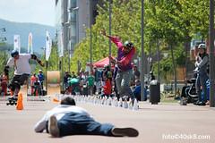 José Antonio y Borja Caribbean Slalom. IV Longskate Old School Festival (40sk8.com) Tags: skating skaters oldschool skate longboard caribbean vitoria slalom gasteiz vitoriagasteiz longboarding sssa 40sk8