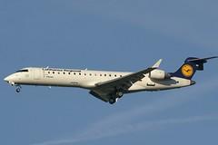 Bombardier CRJ-700 ~ Lufthansa (Aero.passion DBC-1) Tags: spotting aircraft aviation avion plane dbc1 aeropassion cdg roissy bombardier crj700 ~ lufthansa