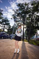 Missing you (bdrc) Tags: casual girl portrait buri model putrajaya balloon sony a6000 tokina 1116 ultrawide backlight date