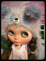 "My 5st custom blythe doll "" 🍍Pineapple """
