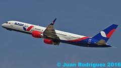 VQ-BKF - Azur Air - Boeing 757-2Q8(WL)  - PMI/LEPA (Juan Rodriguez - PMI/LEPA) Tags: plane airplane airport nikon aircraft sigma boeing mallorca palma aeropuerto 70200mm 80400mm b757 d90 aeroplano sonsanjuan sonsantjoan vqbkf pmilepa azurair