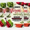 Vegan Weekends – Premium Flyer Template + Instagram Size Flyer (ExclusiveFlyer) Tags: summer vegan top bbq grill barbecue vegetarian veggie picknick vegie barbecueparty grillrestaurant barbecueflyer bbqflyer