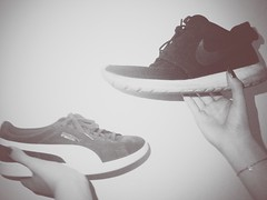 His & Hers (matthewjackson5) Tags: hers his relationships puma nike vintage