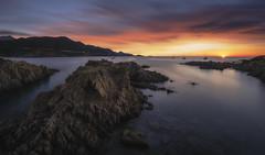 L'Ostriconi (Crsica) (Mathulak) Tags: lostriconi ostriconi sunset seascape corsica corse plage beach d750 le