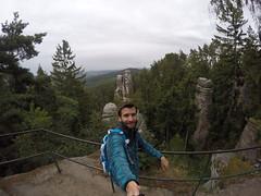 G0173324 (Tom Vymazal) Tags: goprohero4 gopro hero4 hory esk republika rozhledna vyhldka skly skaln msto prachovsk panoramata stezky jn hrad kost trosky cyklovlet pamtky