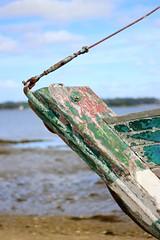 Proue (Eric Vinyals) Tags: proue bateau bois rouille coque