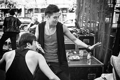 Asian Entertainers (Anne J Gibson) Tags: chinatown kensingtonmarket torontoinsta streetstyle streetphotography streetfashion bnwlife bnwcity bnwtoronto asianboy