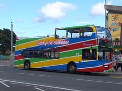 Stagecoach 19169 Skegness (Guy Arab UF) Tags: stagecoach lincolnshire 19169 til7901 alexander dennis trident enviro 400 open top bus grand parade skegness buses highland sv57bfp
