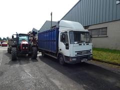 IKZ 6325 - Iveco Ford Cargo Livestock Truck (Jonny1312) Tags: masseyferguson tractor lorry truck livestockmarket sheeplorry sheeptruck livestocktruck cattletruck swatragh