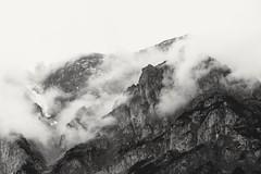 A short moment (desomnis) Tags: mountain landscape austria mountains landscapes blackwhite styria steiermark österreich landschaft natur berge berg clouds wolken blackandwhite desomnis canon 135mm canon135mm ramsau dachstein