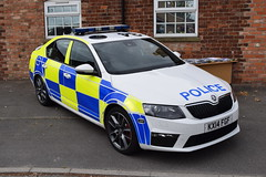 Northamptonshire - KX14FGF (matthewleggott) Tags: louth fire station open day 2016 lincolnshire rescue service kx14fgf police northamptonshire skoda octavia vrs