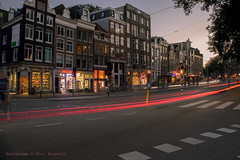 Zipping along (farflungistan) Tags: amsterdamnight canon7d longexposure summer2016 amsterdam holland jordaan nederland netherlands nightphotos photowalk streetphotography