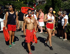 Carnival Parade, Provincetown MA (Boston Runner) Tags: carnival parade backtothe80s 2016 provincetown massachusetts ptown costume baywatch tvshow