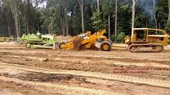 (SEE & HEAR)---Caterpillar D8, 435 Scraper, Euclid C-6, Brownsville, PA. 8-13-2016 (jackdk) Tags: cat caterpillar caterpillard8 d8 dozer bulldozer excavator euclid euclidc6 c6 scraper 435scraper caterpillarscraper detriot detroitdiesel diesel nationalpikesteamshow nationalpike nationalpikesteam nationalpikesteamgasandhorse brownsvillepa brownsvillesteamandequipmentshow brownsvillesteamshow brownsville seeandhear seehear antique antiqueequipment constructionequipment construction