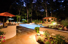 After (3) (The Sharper Cut Landscapes) Tags: pool plantings patio outdoorkitchen outdoorentertainmentarea pergola fireplace walkway thesharpercutlandscapes