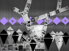 Metropolis-21 (Coconut-Cove) Tags: fan metropolis homage art deco fritz lang thea von harbou conceptual abstract interpretive perceptual collage zietgeist hintergrund