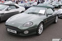 2001 Aston Martin DB7 Vantage Volante (cerbera15) Tags: silverstone classic 2016 aston martin db7 vantage volante