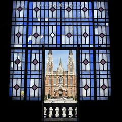 Catedral De La Plata. (MarioVolpi) Tags: la plata canon60d catedral cathedral vitral vitraux ventanas window contraluz