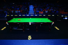 Watching professional snooker match (railstyle) Tags: snooker billiards ronnieosullivan markselby proffesional snookertable