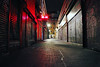 Calle durmiente (adrian_0ff) Tags: madrid cierre supermecados noche oscura calle desierta soledad loneliness street dark darkness city sleepy night grafitti urban art grafiti graffiti hip hop