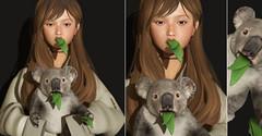 The Forest =^.^= ( Stasey Oller ) Tags: black bantam vive9 pink acid the applier forest event koala bear baby