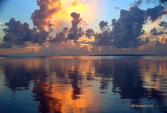 Sunset before the storm. (billrock54) Tags: tropical picturesque sunset keylargo lines love quality beaches fireinthesky artwork billrockwell blue utopia prints photosbybillrockwell hurricane matthew hurricanematthew