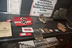 Nazi armbands and paraphernalia (quinet) Tags: 2013 allemagne deutschland germany hakenkreuz munichstatemuseum mnchen nsdap rassismus stadtmuseummunich nazi racism racisme svastika swastika munich bavaria
