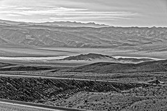 b/w Death Valley view (scuthography) Tags: deathvalley view blackandwhite beautiful california sand desert dry scuthography