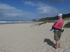 last looks (carolyn_in_oregon) Tags: cannonbeach oregon pacificocean coast al allie jacob