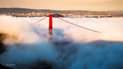 Sunset fog (davidyuweb) Tags: sunset fog san francisco sfist luckysnapshot golden gate bridge low lowfog