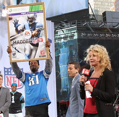 EA Sports Madden Event in Times Square (ProductionsNewYork) Tags: newyork timessquare eventproduction