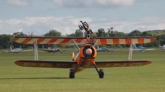 Breitling 11 20120701 (Steve TB) Tags: flyinglegends iwm duxford 2012 canon eos5dmarkii breitling wingwalkers boeing stearman biplane
