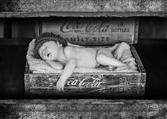 Parker (NikonDigifan) Tags: family portrait blackandwhite composite nikon infant grandson grandchild newborn d300 colorefexpro mikegassphotography