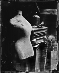 www.christophemaradan.ch (christophemaradan) Tags: white black wet plate nb ambrotype 4x5 inches humide collodion