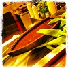 Sushi boat in the dock (Dominik Ras) Tags: bar sushi square japanese restaurant squareformat restauracja lordkelvin japońska iphoneography instagramapp