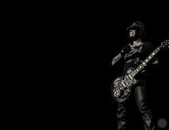 Guitar Greatness (Rez_Designs) Tags: blackandwhite rock metal night concert guitar australia olympus perth gunsnroses westernaustralia omd 2013 em5 djashba pertharena