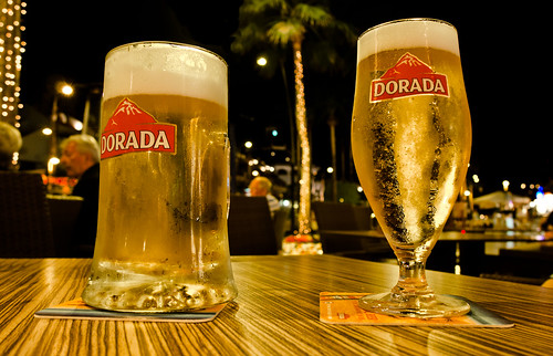 DORADA.Tenerife, the local brew.