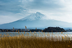 Mt. Fuji (notjustnut) Tags: travel mountain lake japan landscape fuji traveller fujisan ropeway mtfuji kawaguchilake