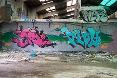 La Fabrica - 58 (r2hox) Tags: graffiti urbanart santiagodecompostela arteurbano abandonedspaces