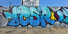 Jesr (graffinspecter) Tags: california street art jes cali wall graffiti la los pieces angeles tag tags vandalism graff tagging flick aub ki burners vandals throwups 159 flicks kic jesr