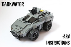 DARKWATER ARV Instructions ([DARKWATER]) Tags: lego military darkwater legoinstructions thepurge legomilitaryvehicle legoarmoredvehicle darkwaterarv thepurgedarkwater legovehicleinstructions