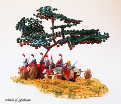 (LCC) Through the plains of Loreos (Mark of Falworth) Tags: grass desert lego scene plain lcc moc loreos