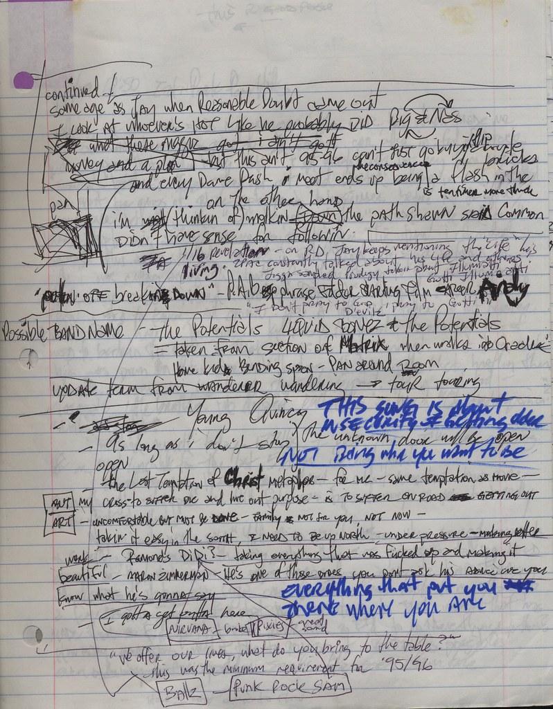 the world s best photos of essay and handwriting flickr hive mind rednotebook2009 pg 20 liquidbonez tags writing handwriting paper notebook essay artist