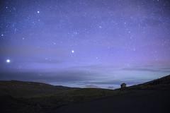 Havnadalur (bergurij) Tags: blue light sky house mountain night clouds dark landscape star islands high nikon shine low iso nikkor johansen faroeislands faroe bergur trshavn froyar streymoy ingemarsson