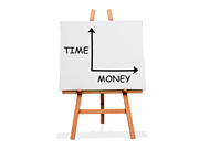 Time Money (One Way Stock) Tags: chart money art time cash value choices span easel decisions duration