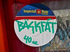 Bask Fat, New York, NY (Robby Virus) Tags: city newyork apple graffiti back big sticker oz manhattan fat 40 slap backfat bask ounce