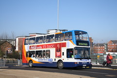 18043 Mansfield (Moving Britain) Tags: mansfield 18043 mx53fmj stagecoacheastmidland
