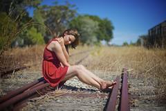 A Journey less travelled (Jamie Frith) Tags: portrait train 50mm nikon rail westernaustralia d800 donnybrook