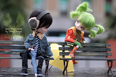 Arima and Yotsuba (Sheryl Designs) Tags: