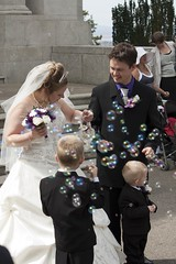 Bubbly Marriage (bryanpage) Tags: flowers wedding children groom bride harrison veil dress steps bubbles blowing suit zachary bouquet weddingdress bridegroom pageboy harrisonhendrixpage harrisonpage bryanpage williamsonpark ashtonmemorial michellepage zacharyzebastianpage zacharypage